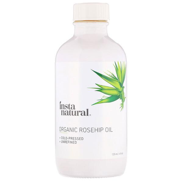 InstaNatural, Organic Rosehip Oil, 4 fl oz (120 ml) (Discontinued Item)