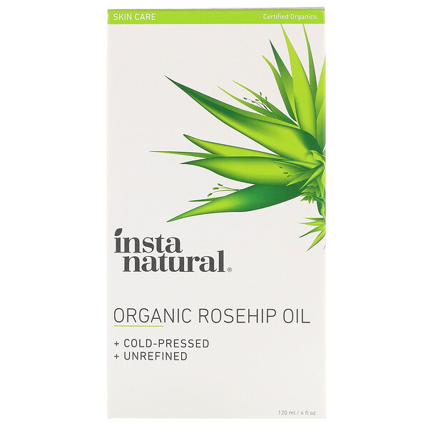 InstaNatural, Organic Rosehip Oil, 4 fl oz (120 ml)