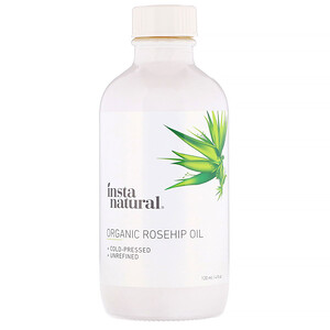 Инстанатурал, Organic Rosehip Oil, 4 fl oz (120 ml) отзывы покупателей