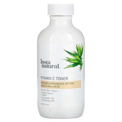 InstaNatural Vitamin C Toner, 4 fl oz (120 ml)