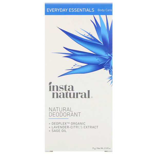 InstaNatural, Natural Deodorant, 2.5 oz (71 g) (Discontinued Item)