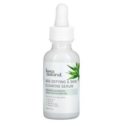 Купить InstaNatural Age Defying & Skin Clearing Serum, 1 fl oz (30 ml)