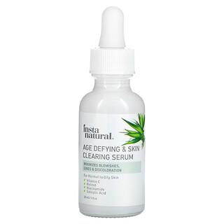 InstaNatural, Age Defying & Skin Clearing Serum, 1 fl oz (30 ml)