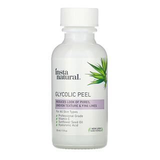 InstaNatural, Glycolic Peel, 30 ml (1 fl oz)