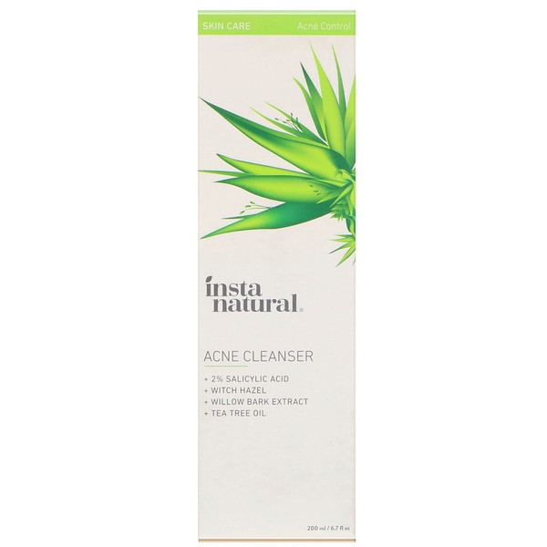 InstaNatural, Acne Cleanser, Acne Control, 6.7 fl oz (200 ml) (Discontinued Item)