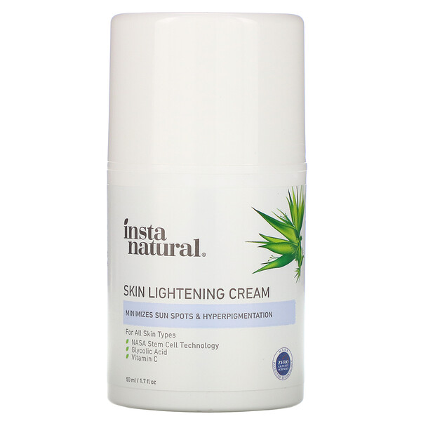 InstaNatural, Skin Lightening Cream, 1.7 fl oz (50 ml)