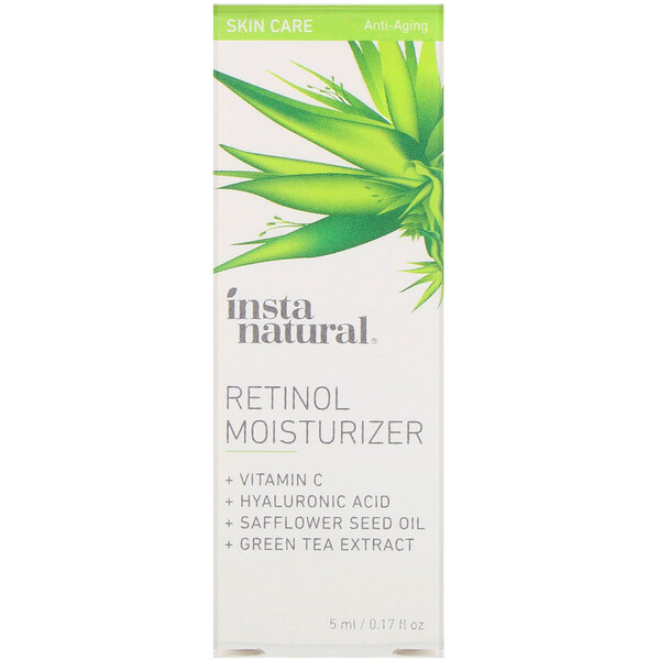 InstaNatural, Retinol Moisturizer, Anti-Aging, 0.17 fl oz (5 ml) (Discontinued Item)