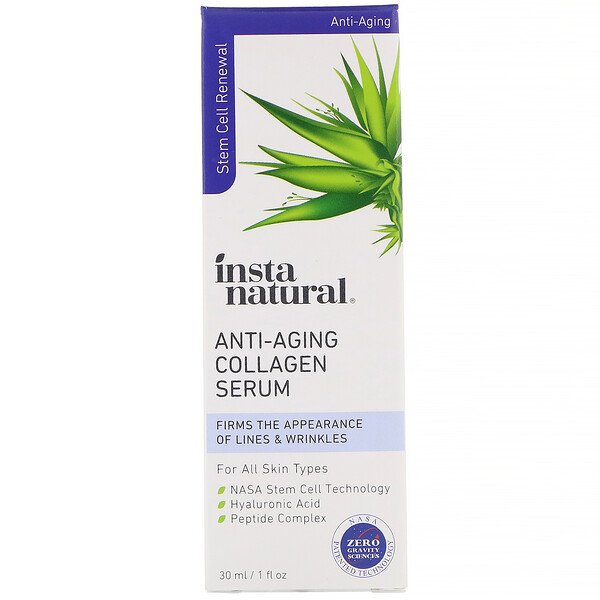 InstaNatural, Anti-Aging Collagen Serum, 1 fl oz (30 ml)