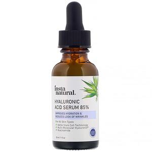 Инстанатурал, Hyaluronic Acid Serum 85%, Anti-Aging, 1 fl oz (30 ml) отзывы покупателей