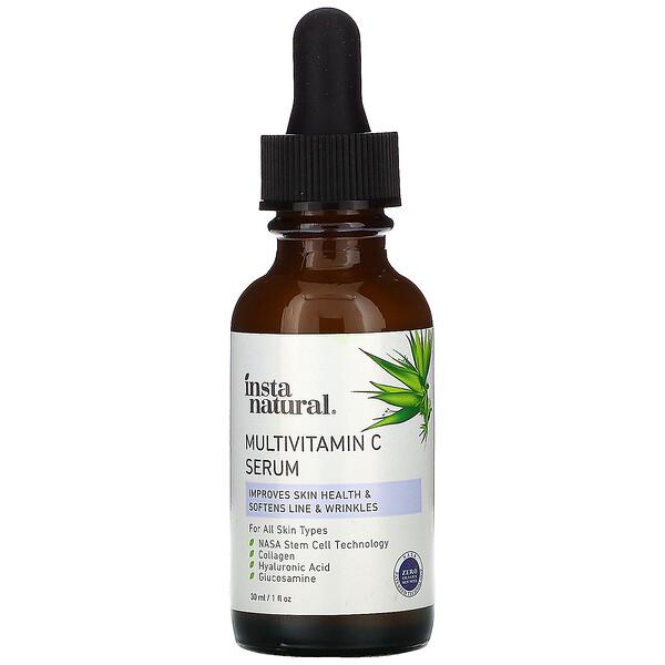 InstaNatural, マルチビタミンC美容液、エイジングケア、30ml(1液量オンス)