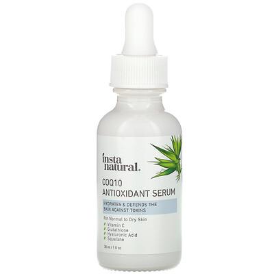 Купить InstaNatural CoQ10 Antioxidant Serum, 1 fl oz (30 ml)