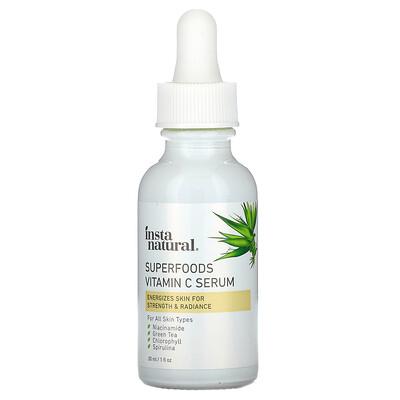 Купить InstaNatural сыворотка с витаминомC из суперфудов, 30мл (1жидкая унция)