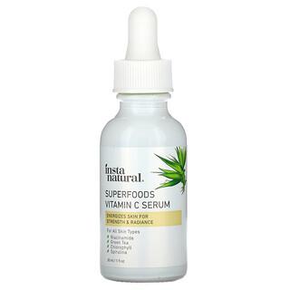 InstaNatural, сыворотка с витаминомC из суперфудов, 30мл (1жидкая унция)