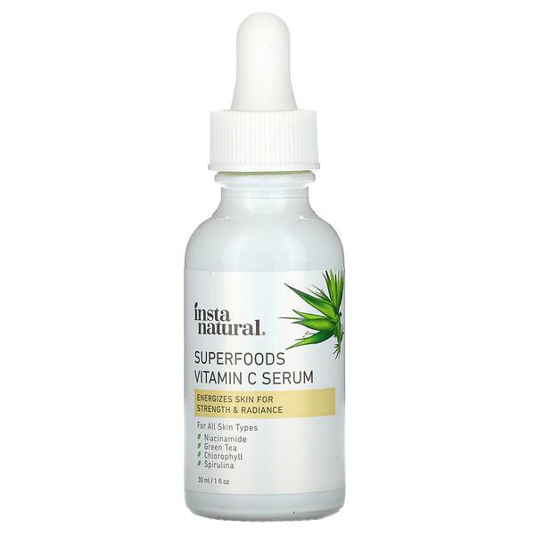 InstaNatural, 鋅維生素 C 精華,1 液量盎司(30 毫升)
