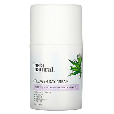 Купить InstaNatural Collagen Day Cream, 1.7 fl oz (50 ml)