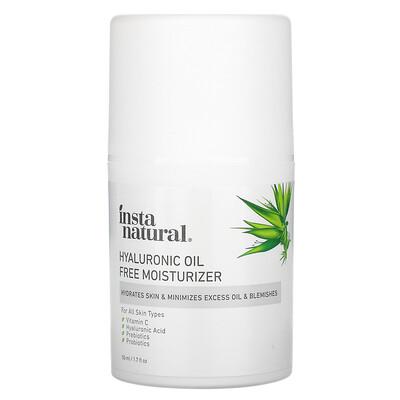 Купить InstaNatural Hyaluronic Oil Free Moisturizer, 1.7 fl oz (50 ml)