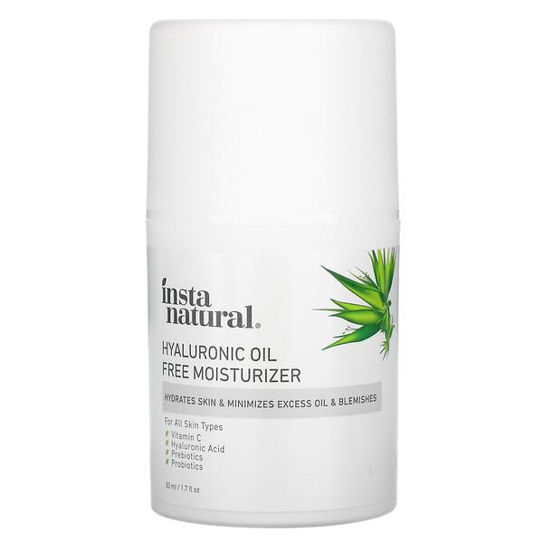 Hyaluronic Oil Free Moisturizer, 1.7 fl oz (50 ml)