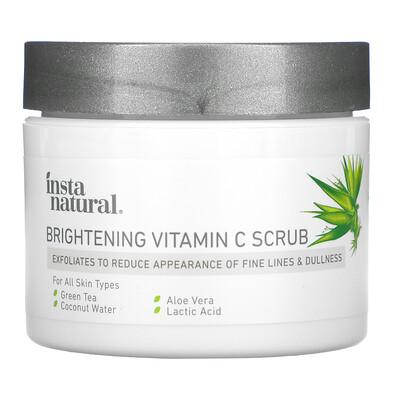Купить InstaNatural Brightening Vitamin C Scrub, 2 oz (56 g)