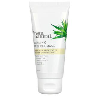 InstaNatural, Vitamin C Peel Off Beauty Mask, 2 fl oz (60 ml)