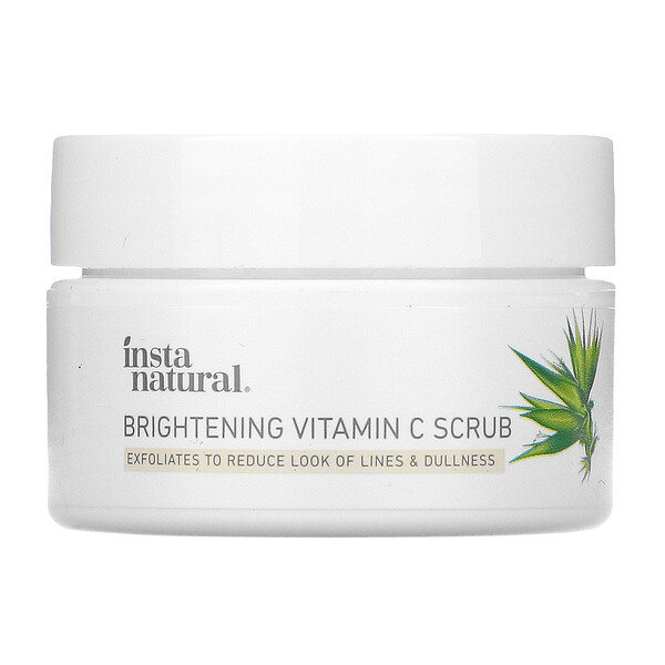 InstaNatural, Brightening Vitamin C Scrub,  0.50 oz (14 g) (Discontinued Item)
