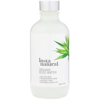 InstaNatural, Organic Rose Water, 4 fl oz (120 ml)