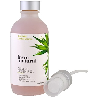 InstaNatural, Organic Rosehip Oil, Skin Care, 4 fl oz (120 ml)