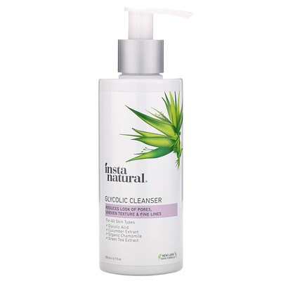 InstaNatural Glycolic Cleanser, 6.7 fl oz (200 ml)