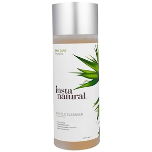 InstaNatural, Средство для очистки кожи лица, средство для умывания, 200 мл