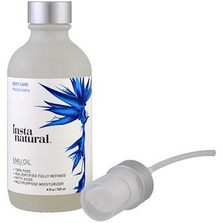 InstaNatural, エミューオイル、 4 fl oz (120 ml)