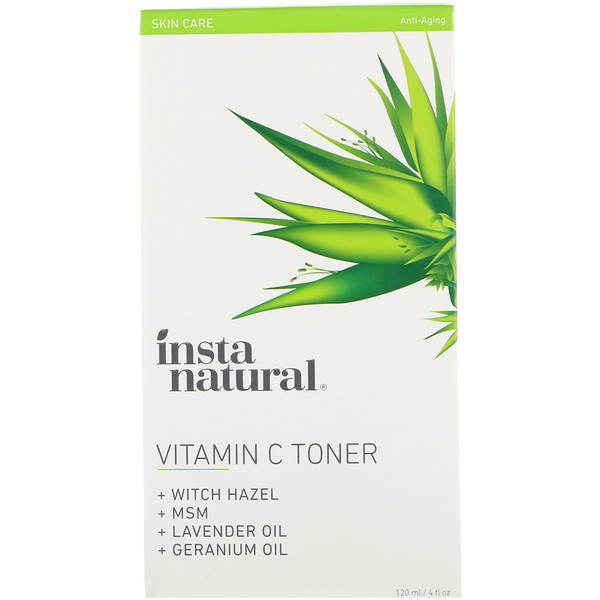 InstaNatural, Vitamin C Toner, Anti-Aging, 4 fl oz (120 ml)