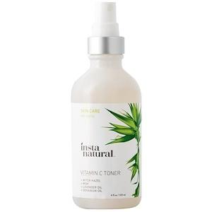 InstaNatural, Тоник для лица с витамином С, хризантема, 120 мл (4 унции) инструкция, применение, состав, противопоказания