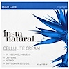 InstaNatural, Cellulite Cream Treatment, Body Lotion for Skin Tightening & Firming, 4 fl oz (120 ml) (Discontinued Item)