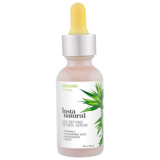 InstaNatural, Retinol Vitamin A Serum with Hyaluronic Acid + Vitamin C, Anti-Aging, 1 fl oz (30 ml)