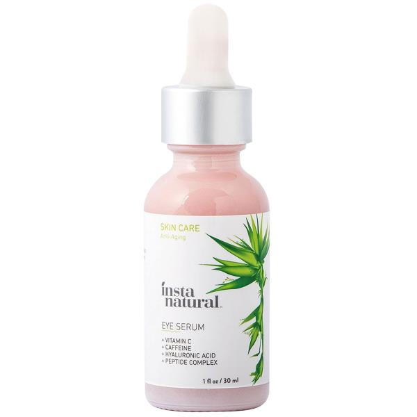 InstaNatural, Eye Serum, with Vitamin C, Caffeine and Hyaluronic Acid, Anti-Aging, 1 fl oz (30 ml)