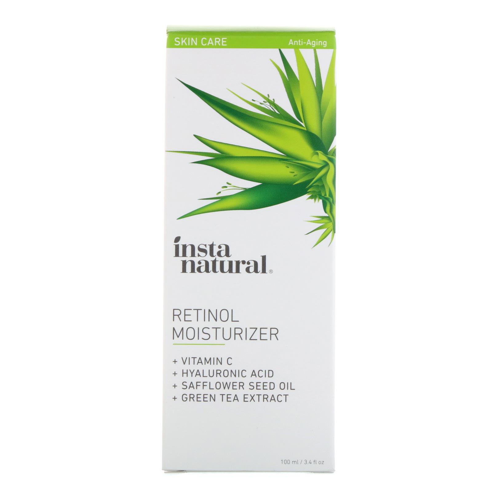 8e41d1c8821 InstaNatural, Retinol Moisturizer, Anti-Aging, 3.4 fl oz (100 ml ...