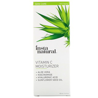 InstaNatural, Vitamin C Moisturizer, Anti-Aging, 3.4 fl oz (100 ml)