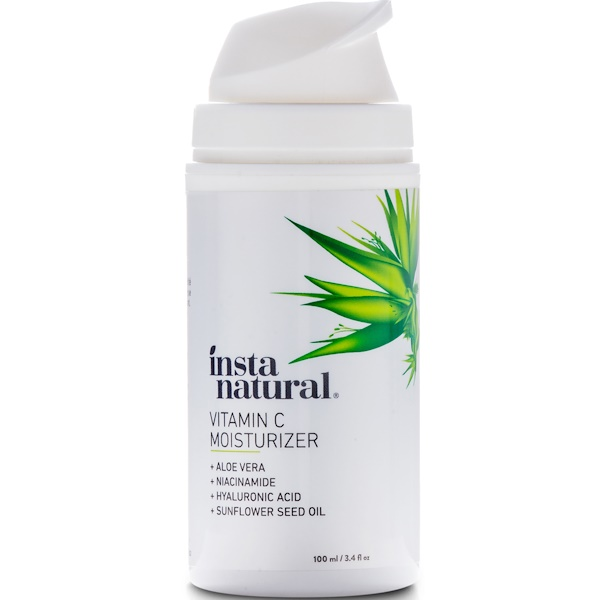 InstaNatural, Hidratante con vitamina C, 100 ml