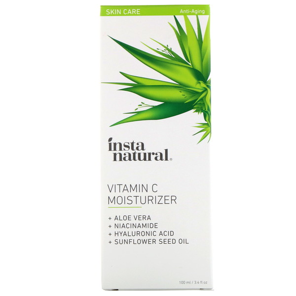 InstaNatural, Hidratante de Vitamina C, 100 ml