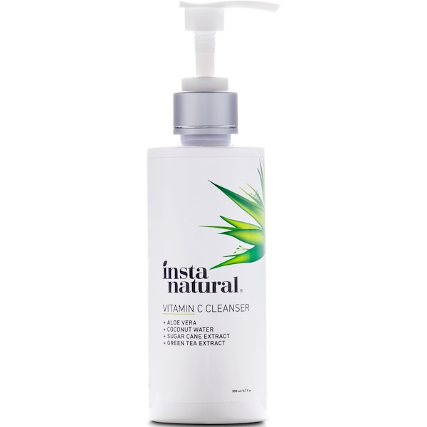 InstaNatural, Vitamin C Brightening Facial Cleanser, 6.7 fl oz (200 ml)