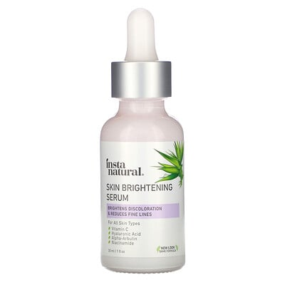InstaNatural Skin Brightening Serum, Youth Restoring, 1 fl oz (30 ml)