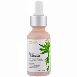 InstaNatural, Pro Radiant Skin Brightening Vitamin C Serum, Anti-Aging, 1 fl oz (30 ml)