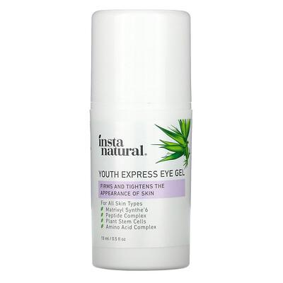 InstaNatural Youth Restoring, омолаживающий экспресс-гель для области глаз, 15мл (0,5жидк.унции)