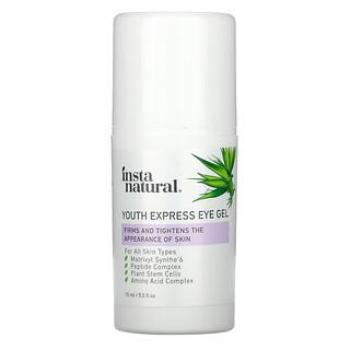 InstaNatural, Youth Express Eye Gel, 0.5 fl oz (15 ml)