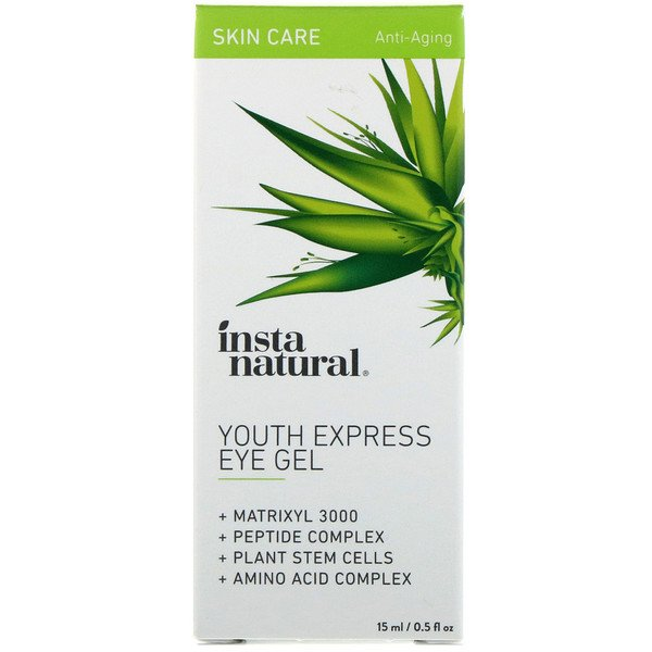 Youth Express Eye Gel, Anti-Aging, 0.5 fl oz (15 ml)