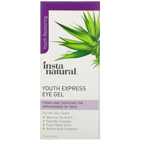 Youth Restoring, Youth Express Eye Gel, 0.5 fl oz (15 ml)