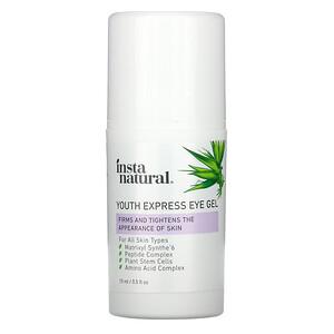 Инстанатурал, Youth Express Eye Gel, 0.5 fl oz (15 ml) отзывы покупателей