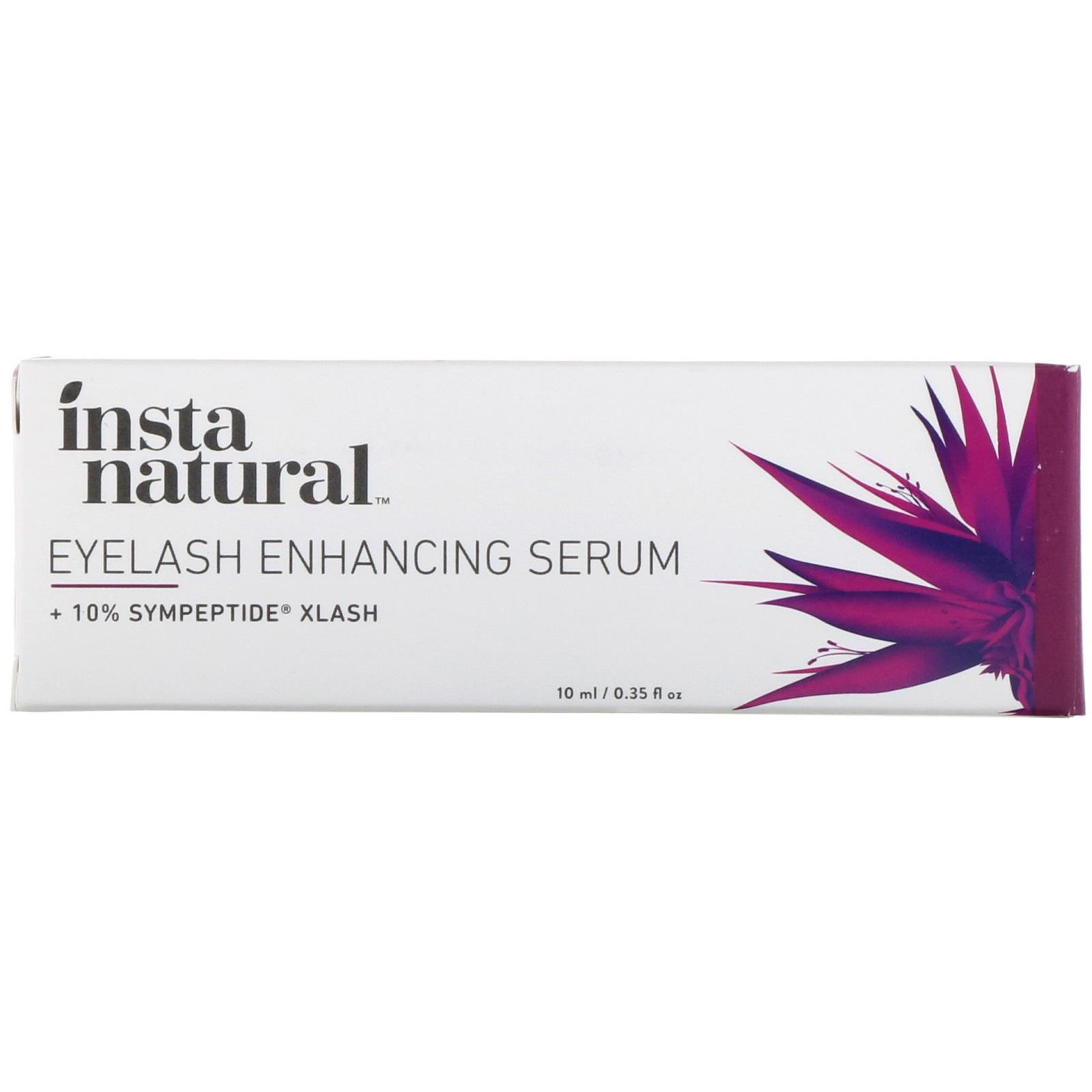 c6b9040f7f4 InstaNatural, Eyelash Enhancing Serum, 0.35 fl oz (10 ml). By InstaNatural