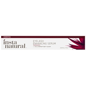 InstaNatural, Сыворотка для наращивания ресниц, 10 мл (0.35 унций)
