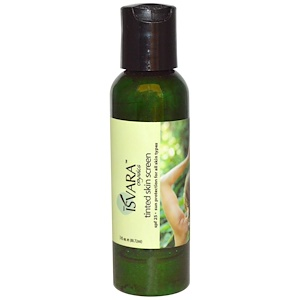 Исвара Органикс, Tinted Skin Screen, SPF 25, 3 fl oz (88.72 ml) отзывы