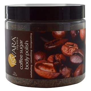 Isvara Organics, Coffee Sugar Body Polish (Exfoliante Corporal de Café Azúcar), 12 oz (355 ml)